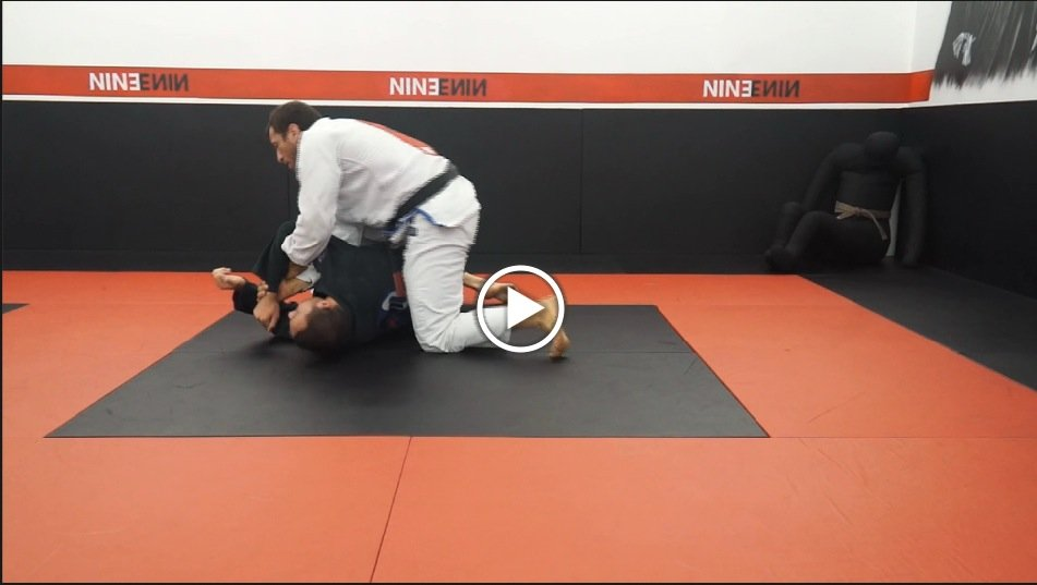 Mounted Americana Escape to Armbar Counter