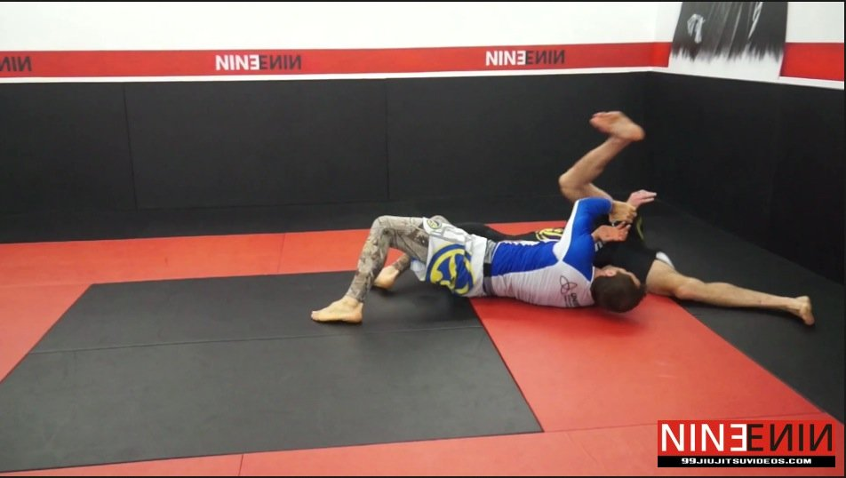 Kimura Roll to Top Position