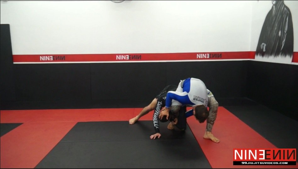 Single Leg Kimura Defense