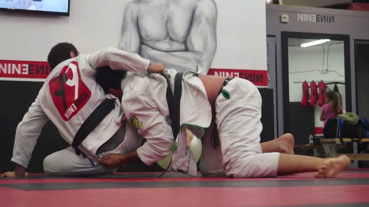 Telles Rolling at Open Mat in San Diego