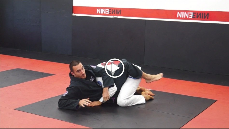 Up and Over Sweep to Kimura