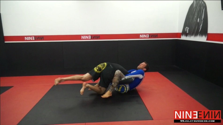 Takedown Defense – Sweep From Guillotine