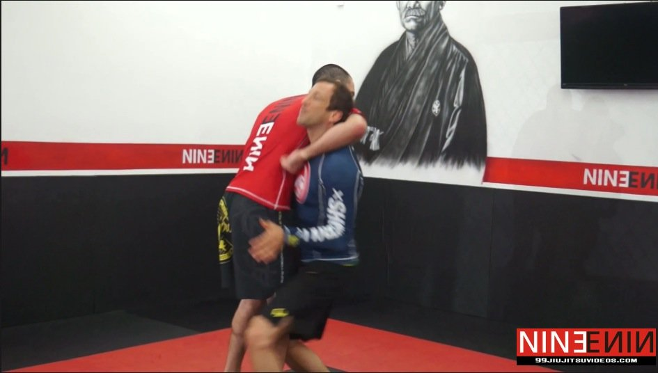 Guillotine Choke – Posture Out -Take Back-No Gi