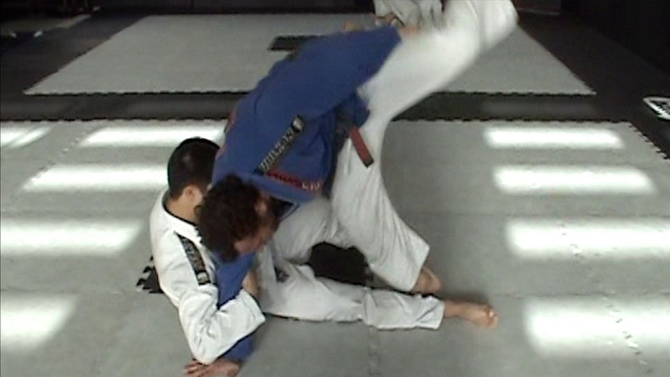 Jiu-Jitsu Arm Drag Flip Counter
