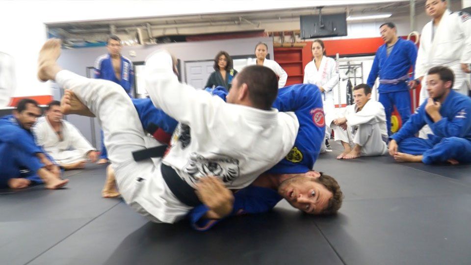 Arm Drag Seated Guard 2