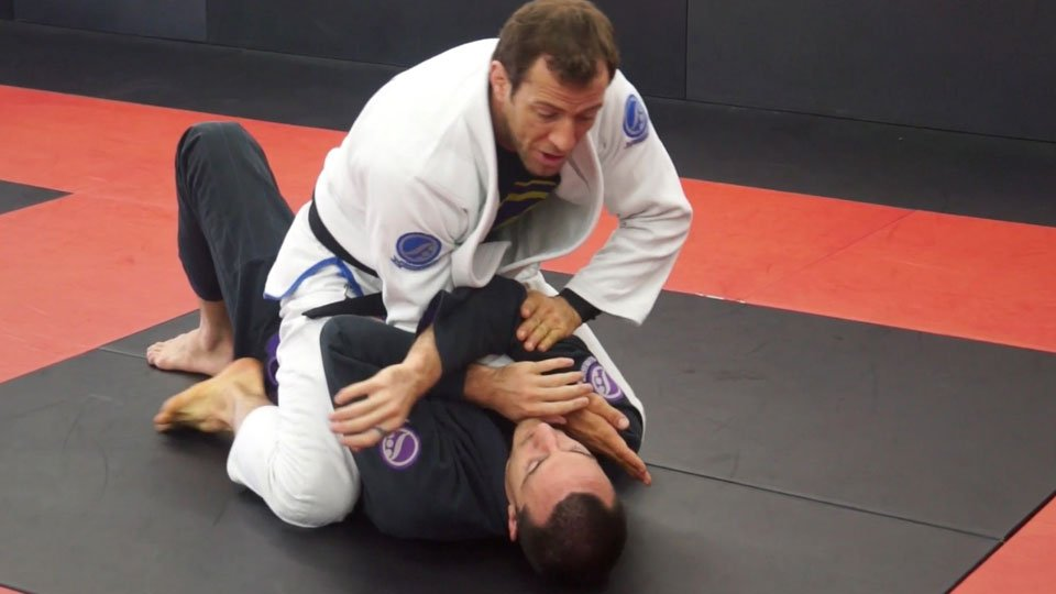 Arm Bar Faking Choke