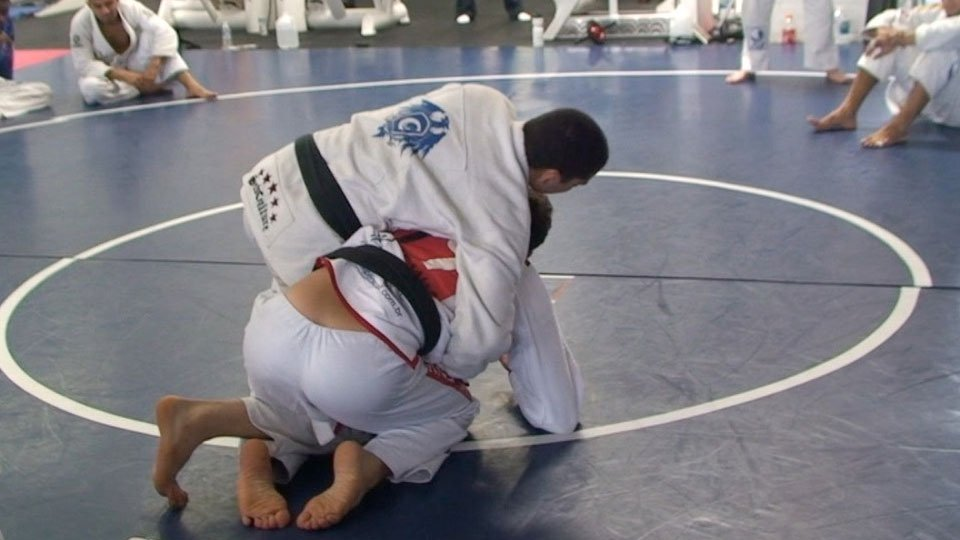 Side Control to Turtle Guard Sweep