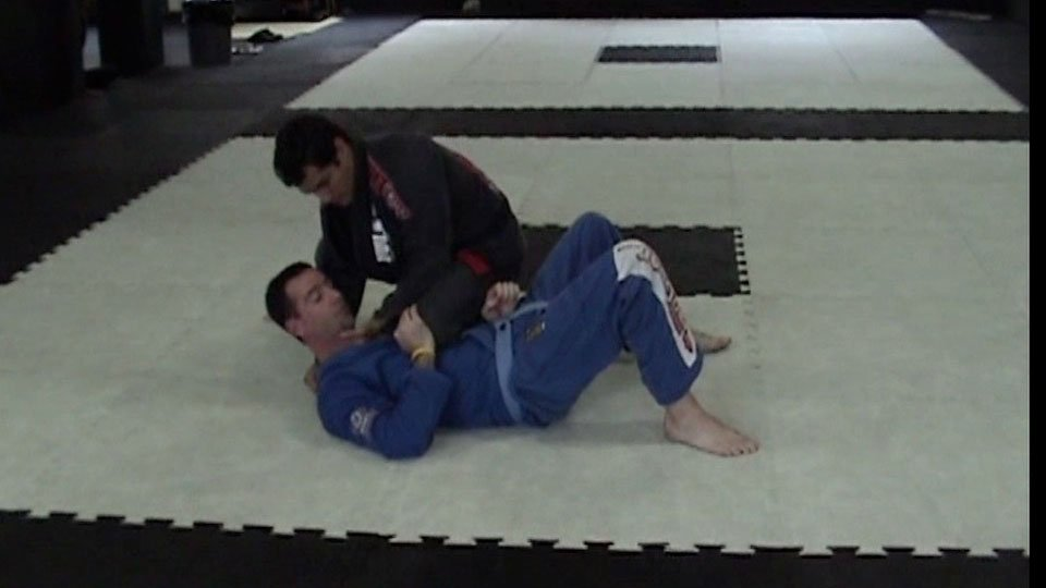 Choke From Knee on Stomach