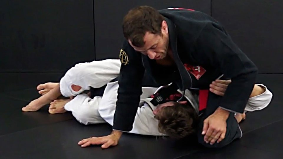 Transition Out of Deep Half Guard