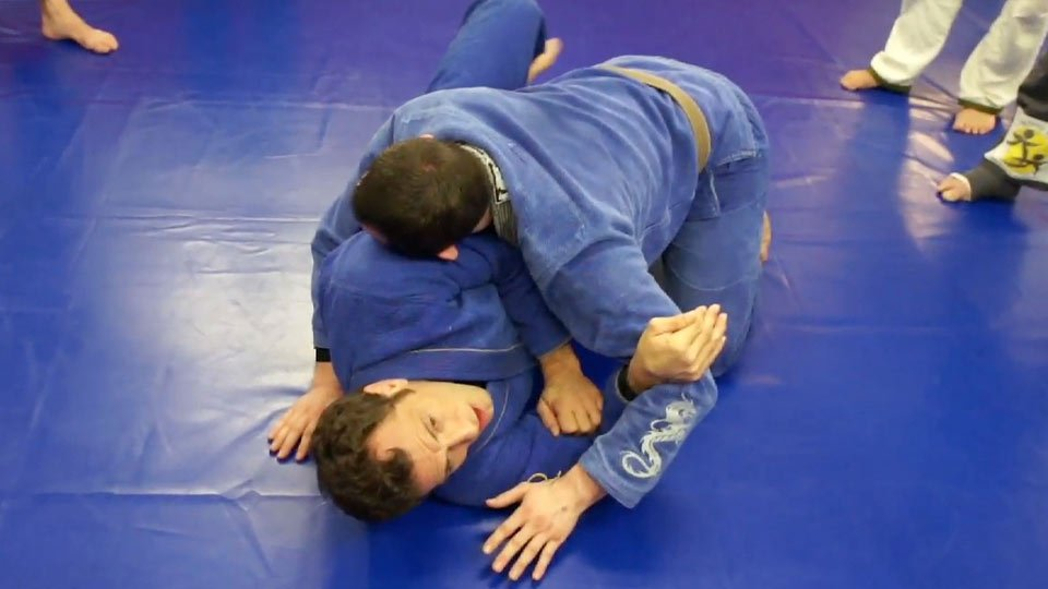Half Guard to Turtle Sweep 2