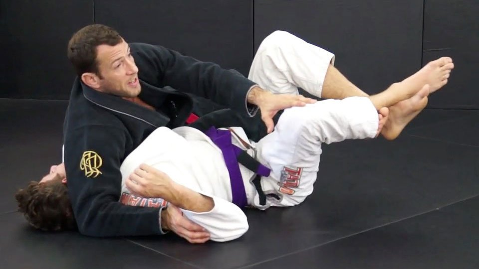 reverse-deep-half-guard-transition Jiu-Jitsu video