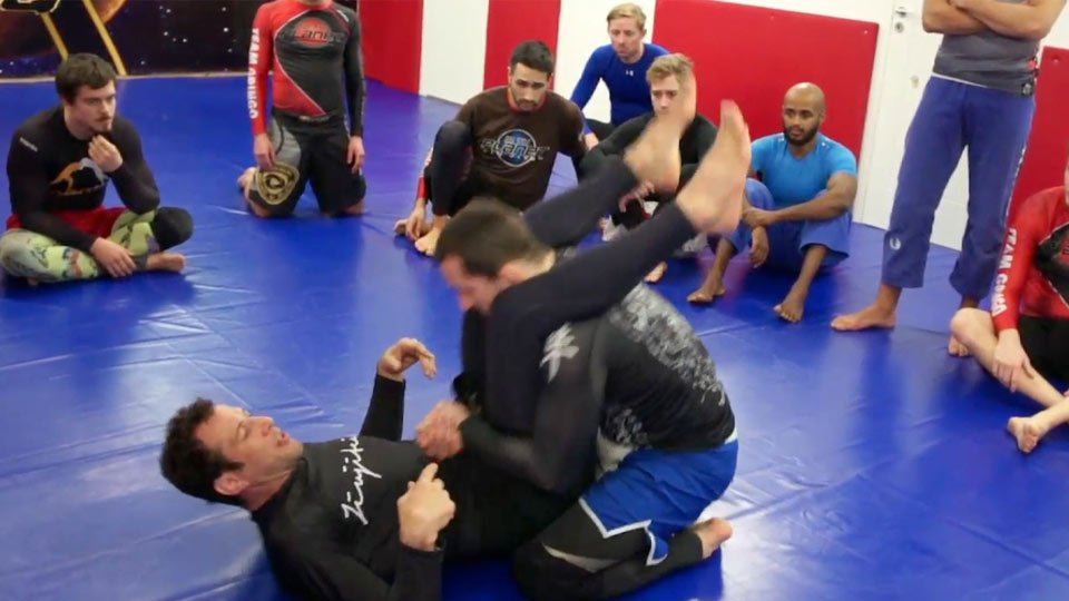 Stack to Side Control Sweep 1