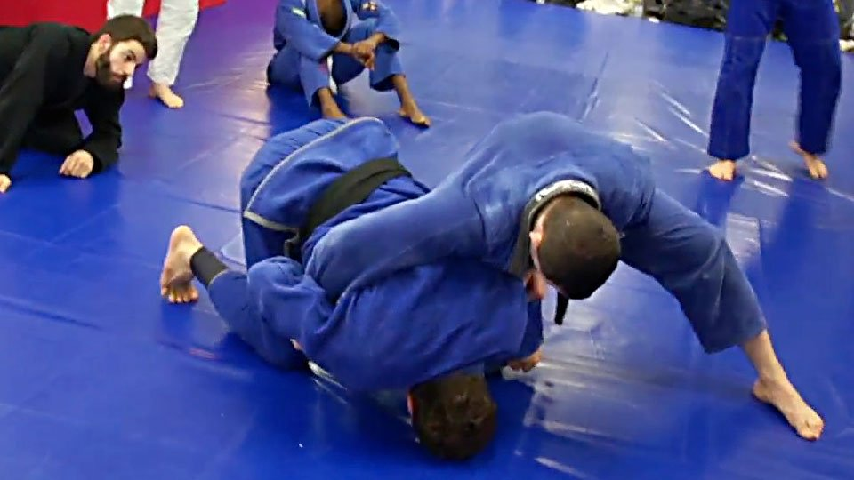 Turtle Roll Sweep