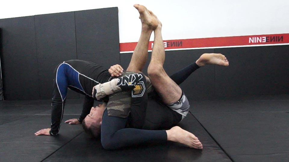 Half Guard Sweep Video1