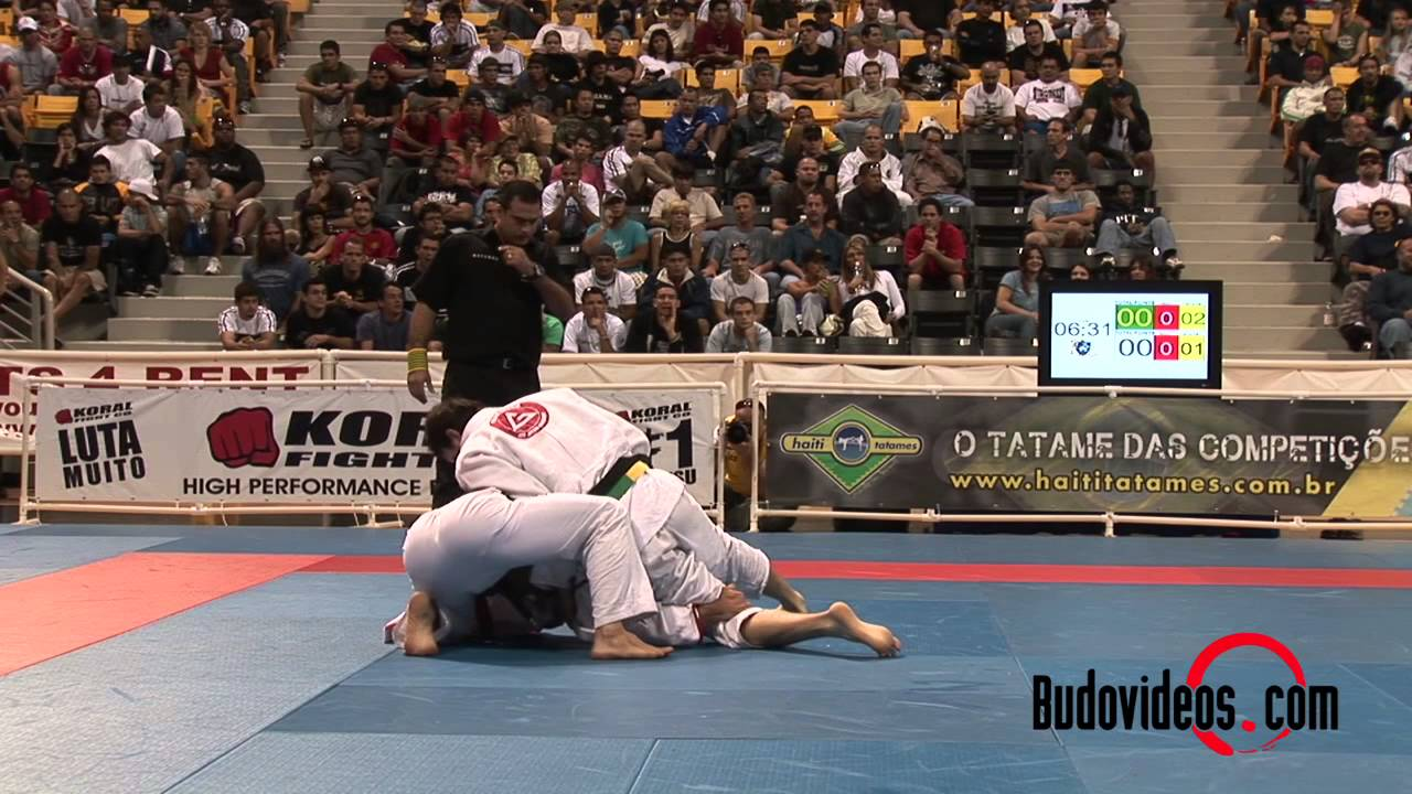 Time Travel Tuesdays Roger Gracie vs Eduardo Telles BJJ worlds 2008