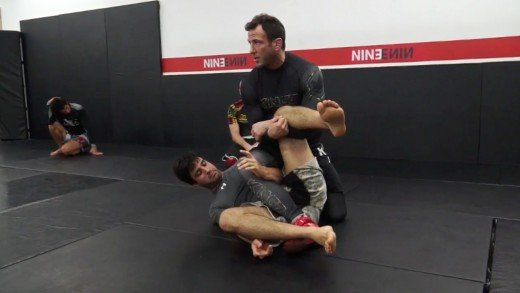 Control Position for Leg Lock