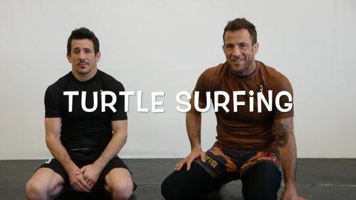 Jiu-Jitsu Turtle Surfing