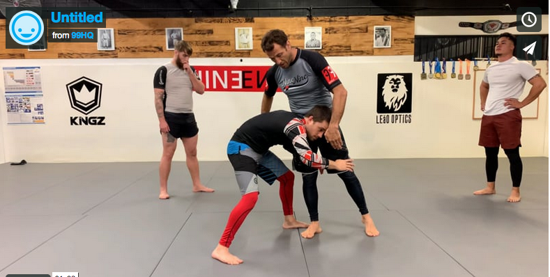 single leg takedown counter